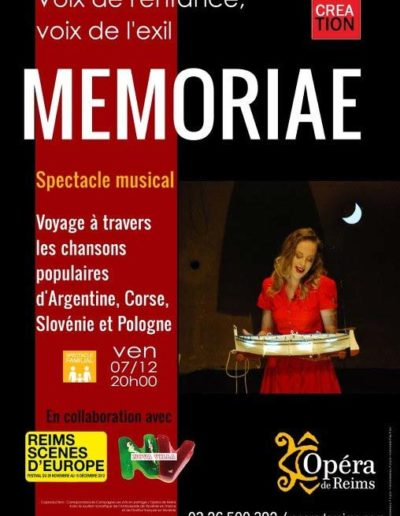 2012 Memoria Poster
