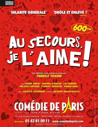 2013 AuSecours Affiche