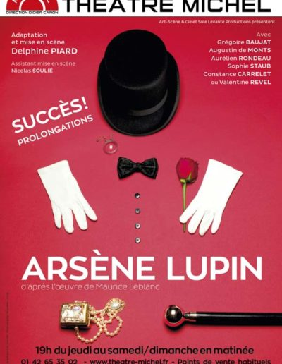 2014 ARSENE LUPIN Spectacle 2015