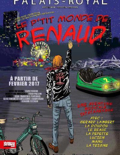 2016 Affiche Le Ptit Monde De Renaud
